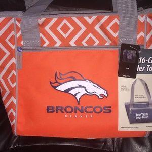 Handbags - NFL 2018 LICENS Denver Broncos 16 Can Cooler Tote